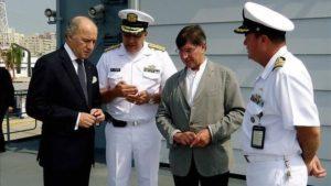 Visite de la base navale de Carthagène