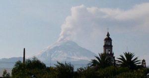 Le volcan Popocatépetl