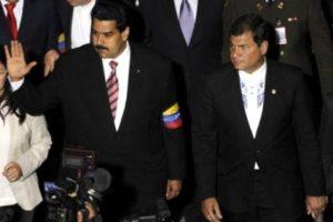 Rafael Correa et Nicolas Maduro