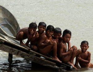 Enfants wounann, département de Choco