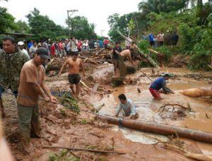 Glissement de terrain à Rurrenabaque