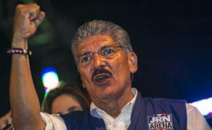 Norman Quijano du parti ARENA