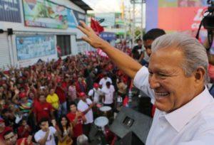Le nouveau président élu du Salvador : Sanchez Ceren