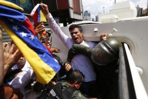 Arrestation de Leopoldo López