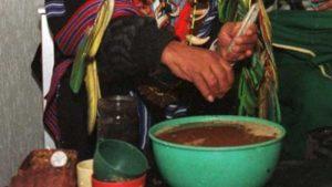Infusion d'ayahuasca