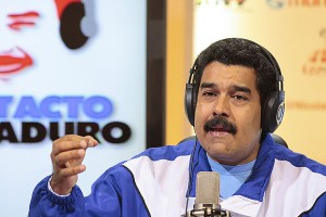 Nicolas Maduro, président de la République du Venezuela