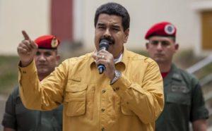 Le président Maduro