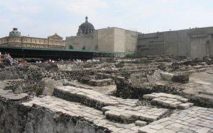 Site archéologique du Templo Mayor en 2008
