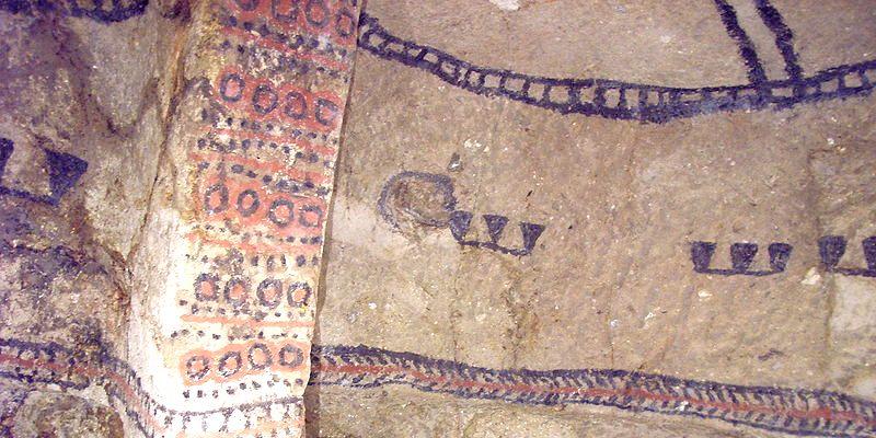Colombie, tombe archéologique de Tierradentro (département de Cauca)