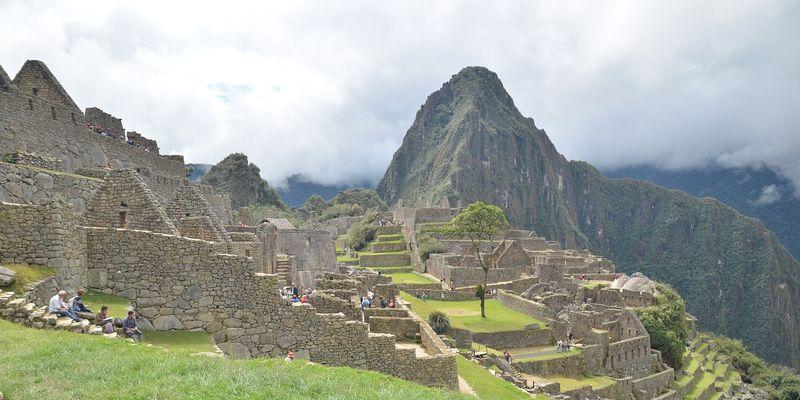 Pérou, site archéologique du Machu Picchu