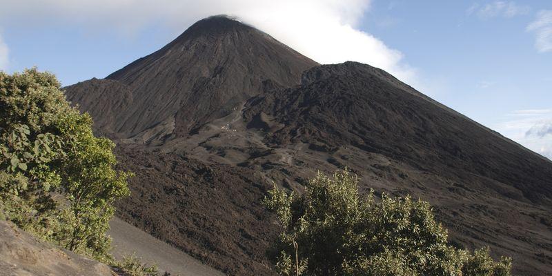 Vue du volcan Pacaya au Guatemala