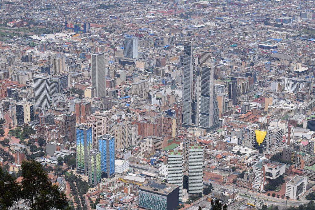 Colombie, capitale Bogotá